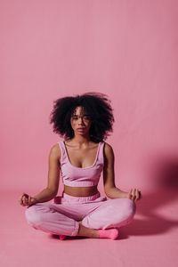 Дамски панталони 3 - розови