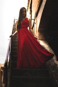 Дамски рокли 3 - червена