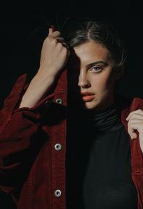 Дамски якета 3 - червено