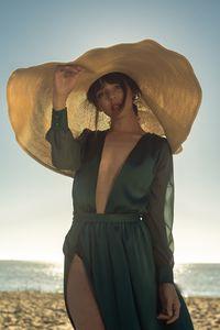 Плажно облекло 3 - зелена