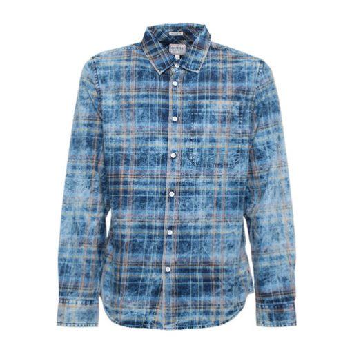 GUESS мъжка дънкова риза